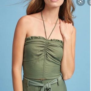 NWT Anthropologie Maeve size M crop top